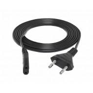 Kabel zasilający sieciowy CE 0,5m. - KABL-33222 / LXK7998