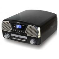 GRAMOFON CD / MP3 / USB / SD / NAGRYWANIEM CAMRY CR 1134B CZARNY