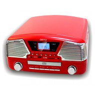 GRAMOFON CD / MP3 / USB / SD / NAGRYWANIEM CAMRY CR 1134R CZERWONY