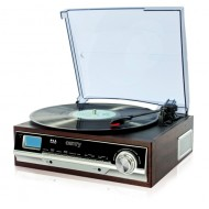 Gramofon z CD/MP3/USB/nagrywaniem Camry CR 1112