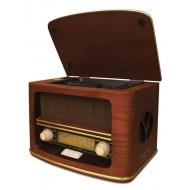 Gramofon z MP3/USB/SD/nagrywaniem Camry CR 1114