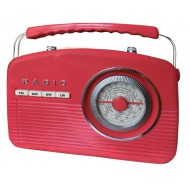 Retro radio Camry CR 1130 black