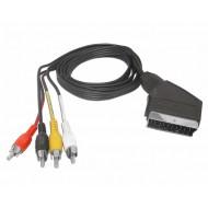 Kabel Euro - 3RCA 3m